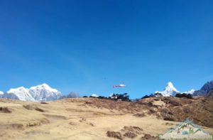 Mount Everest base camp helicopter tour photo a stunning helicopter ride to Mount Everest on helicopter tour in Nepal