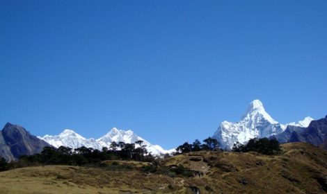 Mount Everest view trek - trekking to Everest view hotel