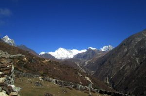 Everest Gokyo lakes trekking in Nepal discover mountain view on Gokyo Ri trek map, cost and itinerary info