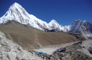 Gorak Shep to Everest Base Camp Nepal