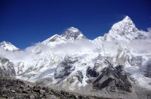How high is Mount Everest elevation - how tall is mt everest feet, miles, meters and kilometers