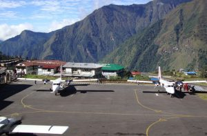 Kathmandu to lukla flight - ticket to Lukla for Everest base camp trek
