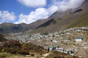 Sherpa villages Khunde & Khumjung in Everest Region, Nepal