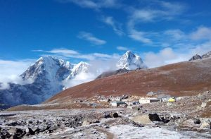 Tea houses trekking to Everest base camp - Lobuche Teahouses on Everest base camp trek