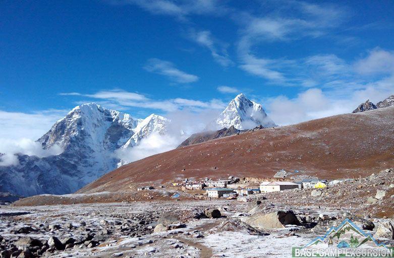 Tea houses trekking to Everest base camp - Lobuche Teahouses on Everest base camp trek
