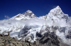 Mount Everest - Where is Mount Everest located in the world map