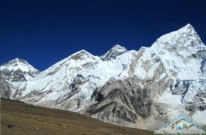 Mount Everest height 8848 meters / 29029 feet Nepal going to measure is again to identify its lost height