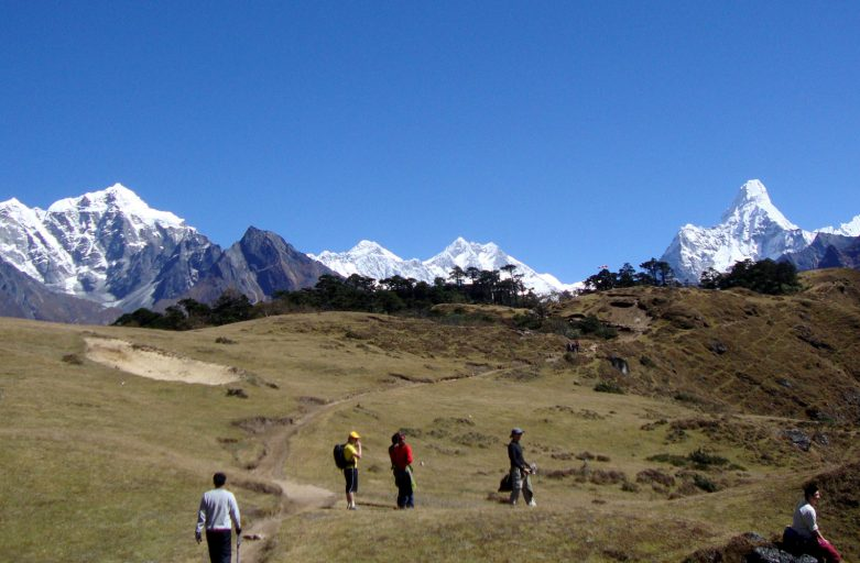 Everest base camp trek- Mount Everest View Point