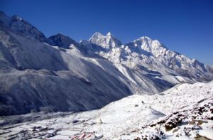 Pheriche to Everest base camp trek