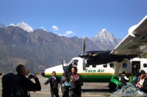 Tara air aircraft photo with Lukla to Kathmandu flight fare, schedule and booking procedure