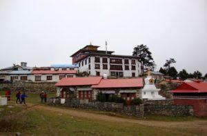 Namche Bazaar to Tengboche Monastery Nepal