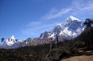 Mount Thamserku Trekking in Everest