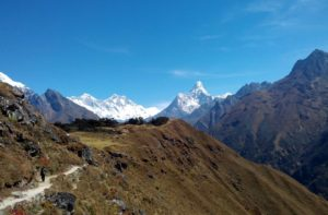 Best view of Mount Everest from Nepal