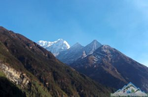 Mount Everest base camp trek in autumn season Nepal