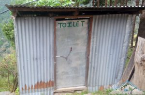 Mount Everest base camp trek toilet