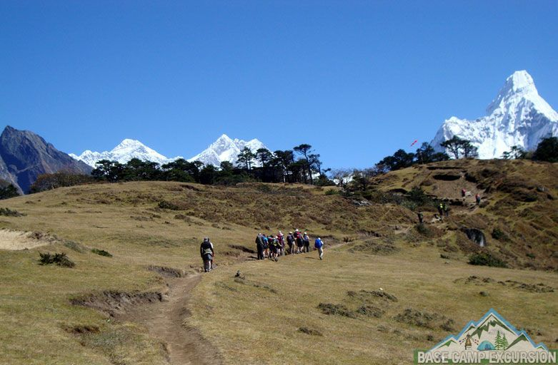Everest view Yeti trail - Everest luxury trek via thame to Kongde