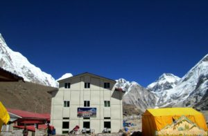 Hotel Everest Inn Gorak Shep, at an altitude 5180m nearest hotel to Mount Everest