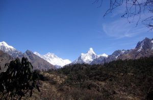 Mt Everest base camp treks in March - hike to Everest base camp