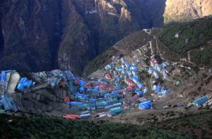 Namche bazaar - Namche bazaar travel facts - Visit Namche bazaar hotels & weather guide