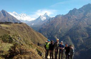 Namche bazaar to Everest base camp