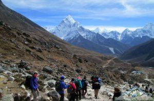 Gear using on Everest base camp trek tour Nepal side