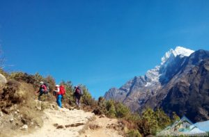 Walking holidays Nepal to see the sight of high mountains photo of Nepal walking holidays