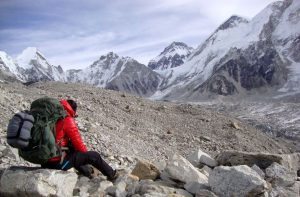 4 Season down sleeping bag for Everest base camp trek