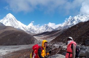 Lobuche village - Dingboche to Lobuche distance, weather and elevation
