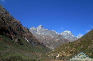 Phortse tenga to Machhermo distance & elevation via Dole Nepal on Gokyo trekking route