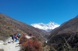 Everest Base Camp Day 5 Tengboche to Dingboche trip