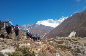Everest Base Camp Trek Day 5, Tengboche to Dingboche