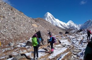 Everest Base Camp Day 9 Lobuche to Gorak Shep