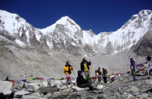 From Gorak Shep to Everest Base Camp Nepal