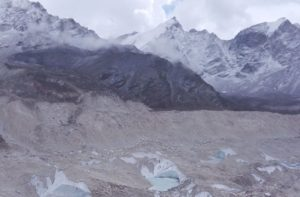 Gorak Shep to Lobuche, after Kala Pattar hiking