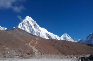 Gorak shep to Kalapatthar distance, weather and elevation