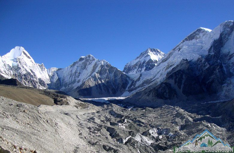 Gorak shep to Everest base camp distance, weather and elevation