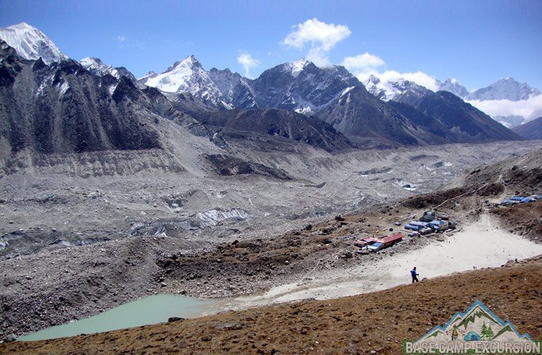 Gorakshep village – Lobuche to Gorak shep distance, weather and elevation