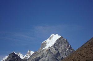Lobuche village with Dingboche to Lobuche distance, weather & elevation