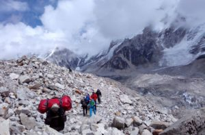 Lobuche to Everest base camp