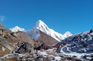 Lobuche to Gorak Shep and Kala Pattar