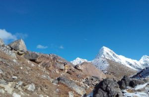 Lobuche to Gorakshep Trek to Everest Base Camp