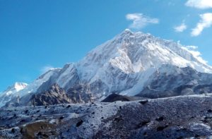 Lobuche to Gorakshep via Everest Base Camp