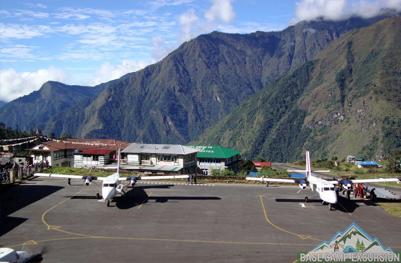 Image result for lukla airport