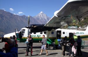 Kathmandu to Lukla Flights today just Landing at Lukla Airport