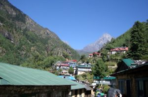 Lukla to Manjo village for Everest Base Camp Trekking