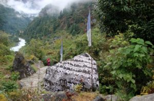 Everest base camp trek Day 1 - Lukla to Phakding