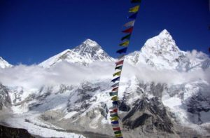 Lukla to Everest base camp trek route Nepal side to visit Mount Everest base camp