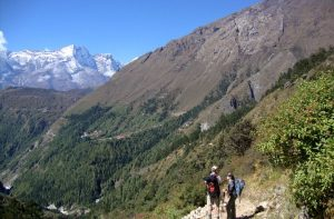 Tengboche - Namche bazaar to Tengboche distance, weather and elevation