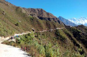 Namche to Tengboche Trek Khumbu Nepal