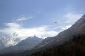 Namche bazaar to Everest base camp via Tengboche